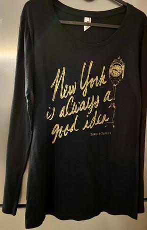 """T-shirt z napisem """"New York Is Always a Good Idea"""""""
