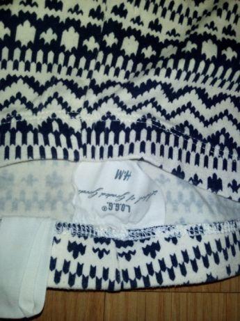 Legginsy dziewczęce H&M rozmiar 140 getry spodnie