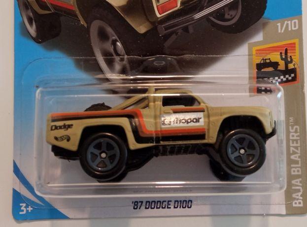 Hot Wheels '87 Dodge D100 rok 2017
