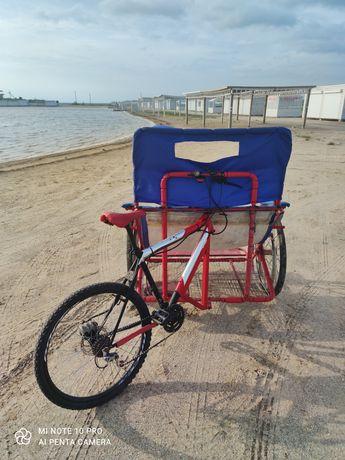 Продам рикшу, рикша на море