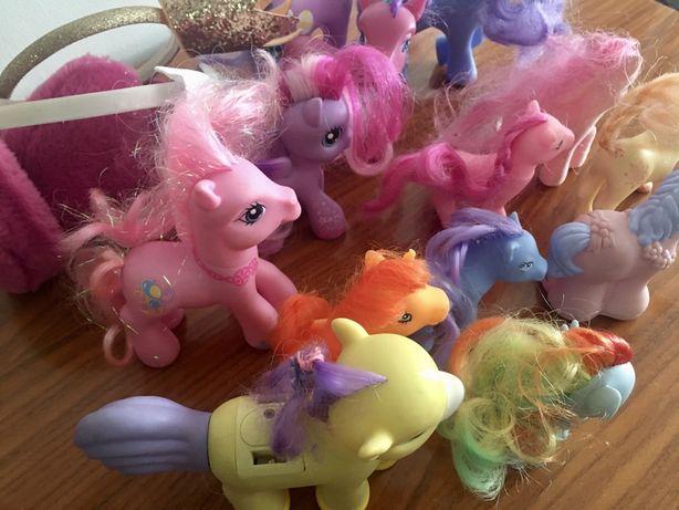 My little pony kucyki zestwaw 13 sztuk