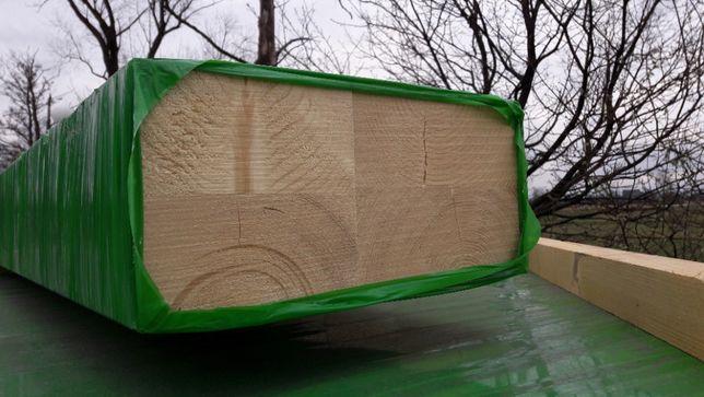Drewno konstrukcyjne klejone DUO 140x240mm klasa C24 świerk jakość NSI