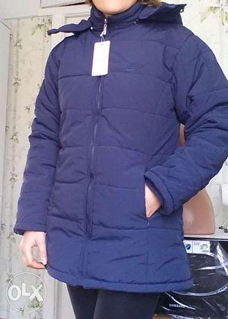Зимняя теплая двусторонняя куртка. Новая. Качество! M