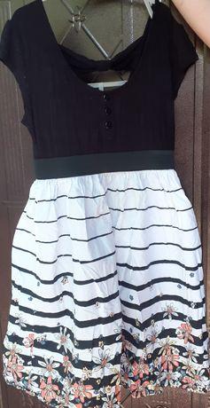 Платье нарядное летнее на девочку 7-9 лет