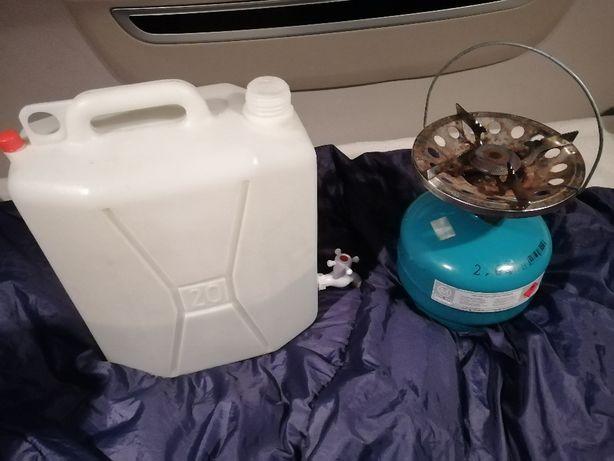 butla turystyczna gazowa z palnikiem