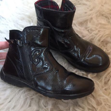 Ботинки Geox,  29 размер (18,5 см стелька) кожа