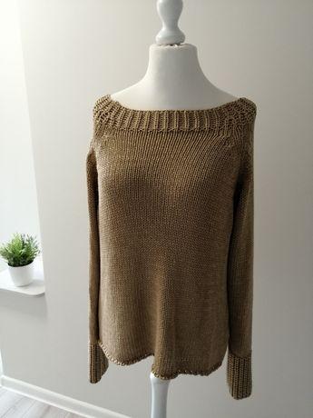 Sweter oversize roz L