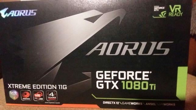 Aorus GTX 1080Ti Xtreme Edition 11G
