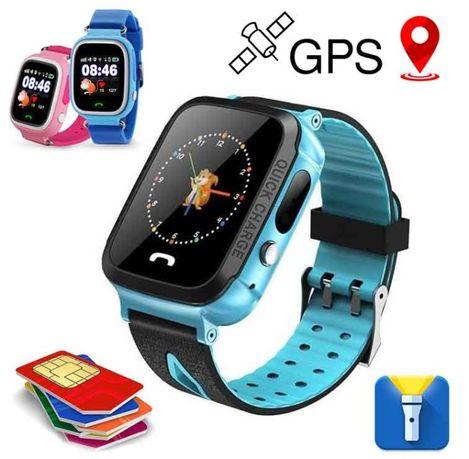 Детские Умные Смарт Часы с GPS, Baby Smart Watch S4 (ФЕНИКС, ОРИГИНАЛ)