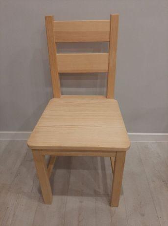 Krzesła drewniane surowe do pomalowania