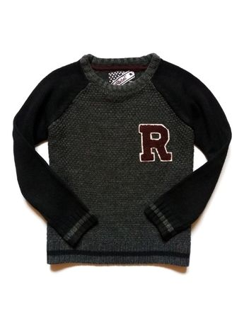 Теплый свитер Rebel, р. 134 см