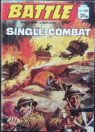 Battle Single Combat komiks wojenny angielski