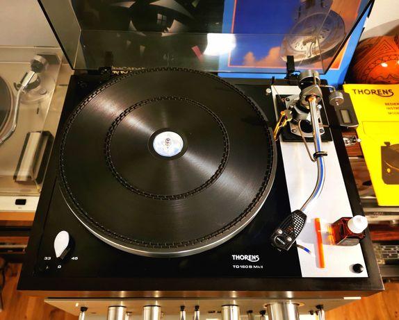 Gramofon Thorens TD 160B mk2 RAMIĘ SME 3009 stan gabinet