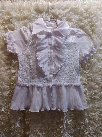 Детская нарядная блузка