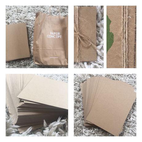 NOWY Papier eko kraft 400g brązowy A4 ok40szt. PAPER CONCEPT