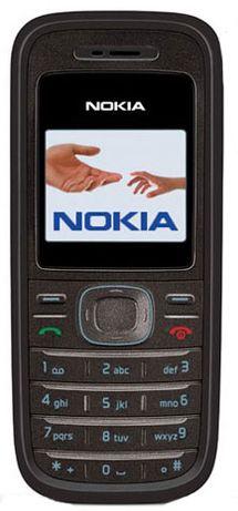 Мобильный телефон Nokia 1200 1208 есть фонарик 700 мАч новый