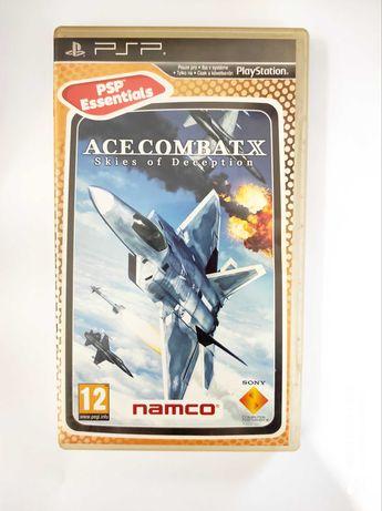 Ace Combat X skies of Deception PSP