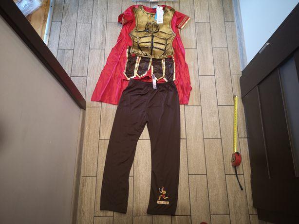 Strój gladiatora gladiator rycerz król roz.9-10 lat(135-140cm)