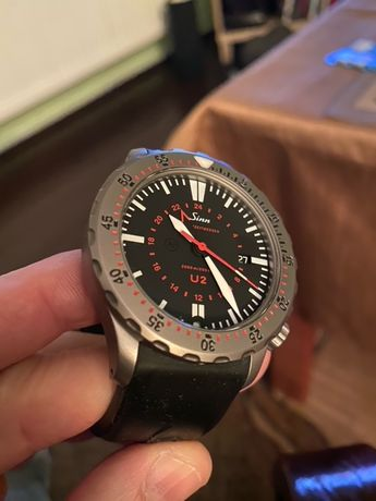 Zegarek Sinn U2 EZM5 - prawdziwy diver