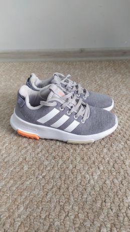 Серые беговые кроссовки Adidas 31р-20см, кросовки на мальчика/девочку