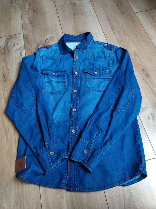 Koszula r.152 jeans Suwałki - image 1