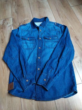 Koszula r.152 jeans