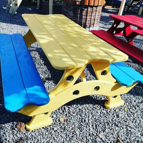 Детский столик, лавочки. Дитячий столик, лавочки пісочниця