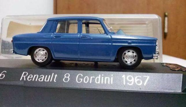 Renault 8 gordini da sólido 1:43 novo