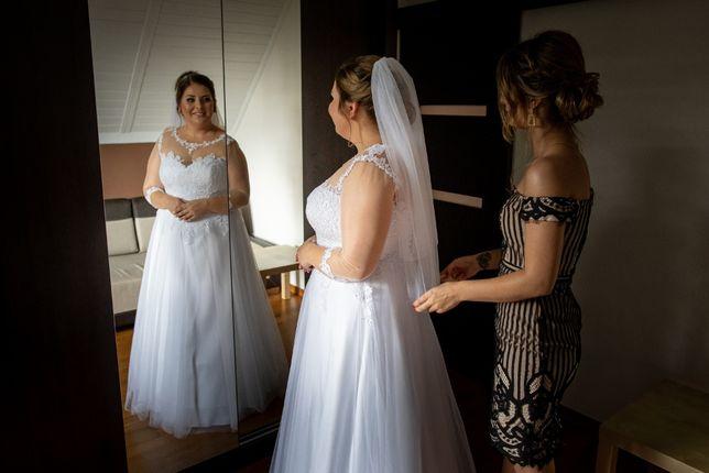 Suknia ślubna romiar 42-44