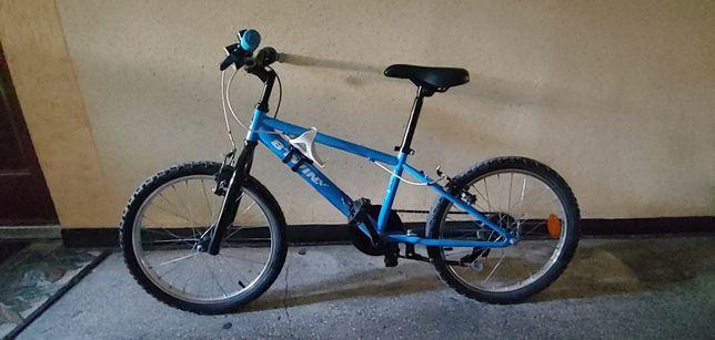 Rower dziecięcy BTWIN 20 cali niebieski