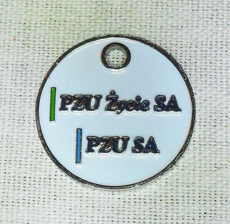 Plakietka brelok odznaka zawieszka PZU ŻYCIE S.A