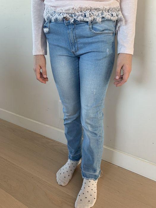 Jeans spodnie na 152 Zara girls Rymanów - image 1