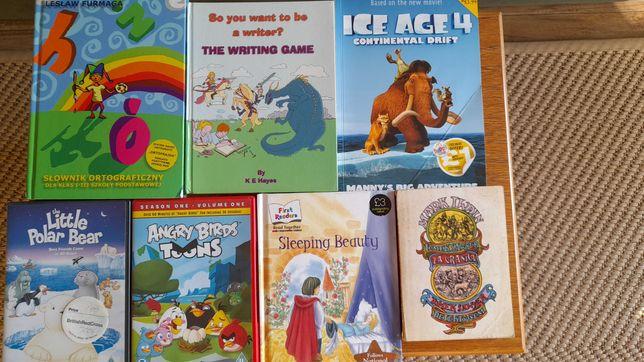 Książki i bajki dla dzieci zestaw - oddam za kawę!