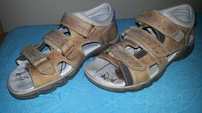 Sandały skórzane Bartek