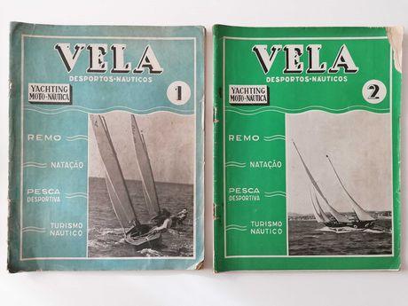Revista Vela - desportos náuticos, iates - anos 40