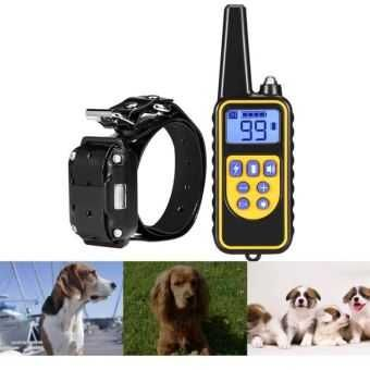 Coleira Adestramento / Treino Cães / anti latido / a bateria