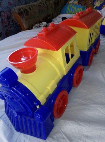 Большой поезд.
