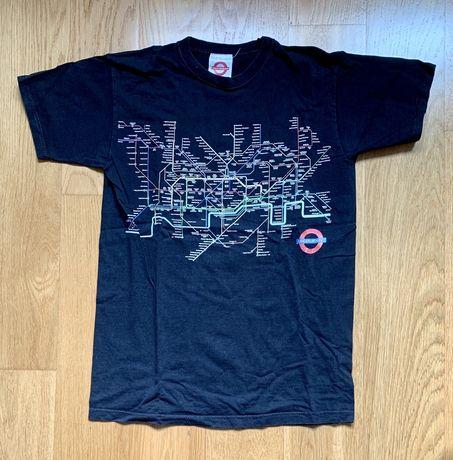T-shirt alusiva ao metro de Londres