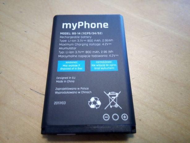 Oryginalna Nowa bateria BS-14 do myPhone HYKKER oraz 3310 CLASSIC