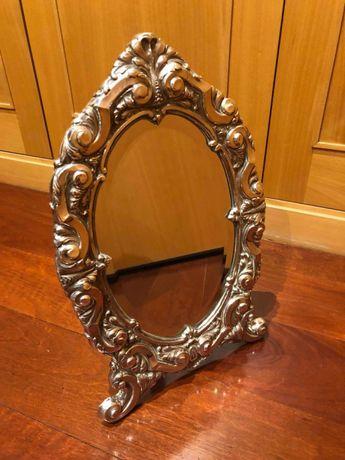 Espelho de mesa em Prata Portuguesa
