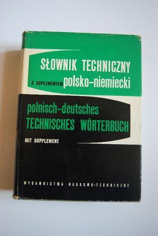 Słownik techniczny polsko - niemiecki - KOCH