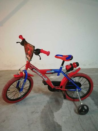 "Bicicleta criança ""Spiderman"" Roda16"