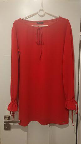 Krótka sukienka Mohito r. M 38 czerwona