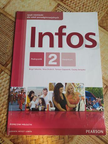 Infos 2 podręcznik wieloletni język niemiecki Pearson