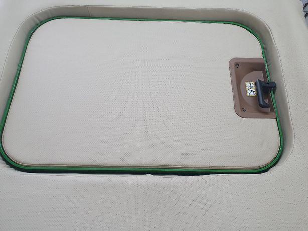 Tapicerka dach John Deere z szybrem 6100, 6200, 6300, 6400, seria 6000