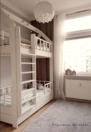 Piętrówka domek łóżko