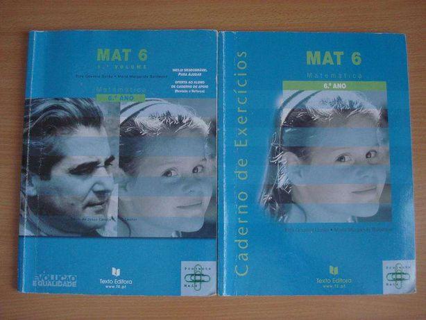 Livros Matemática 6º Ano - 7º Ano - 8º Ano