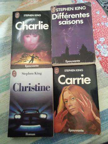 Stephen King / livres en français, livros em francês