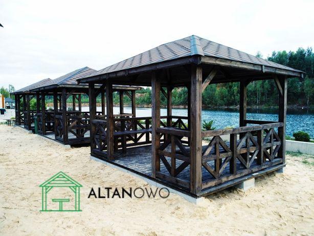 altana ogrodowa altana drewniana altanki ogrodowe drewniane 3x3 4x4