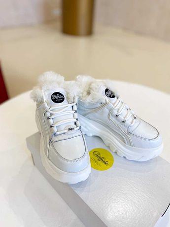 Buffalo buty damskie premium jakość 36-41 zima skóra+futro